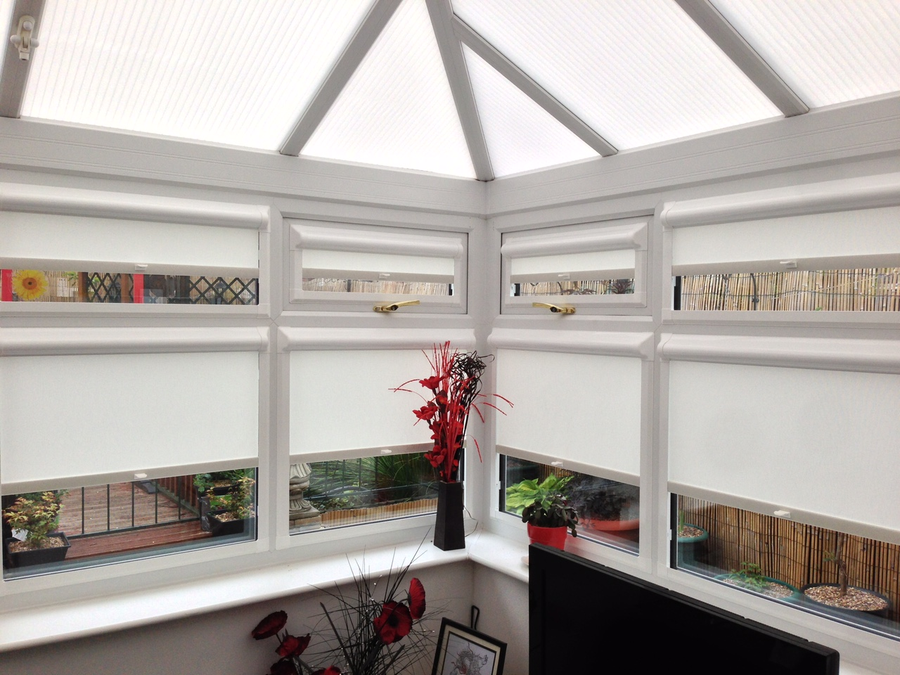Perfect fit side blinds pleated venetian made to measure conservatory blinds solutioingenieria Image collections