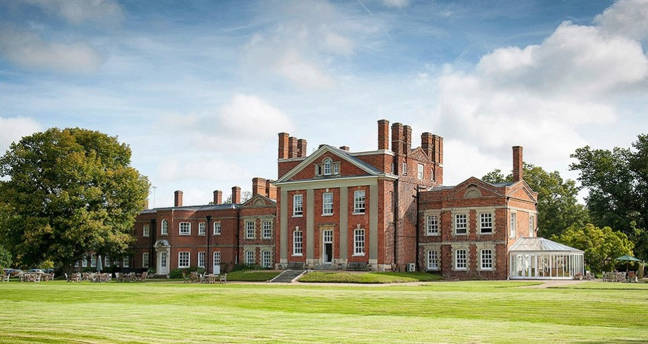 Warbrook House – Hampshire – Pleated Roof & Window Blinds