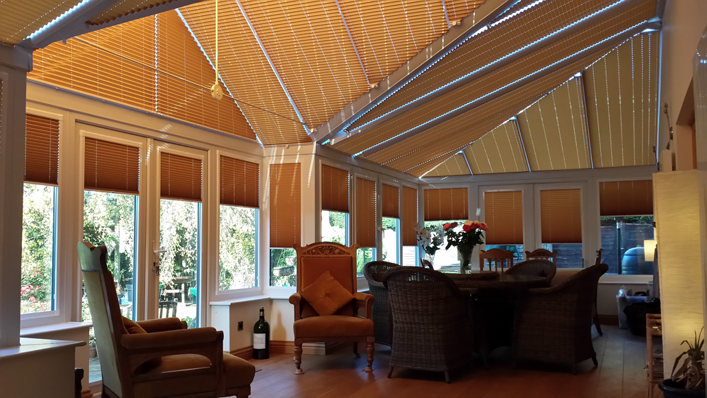 Camberley Surrey Conservatory Roof Blinds