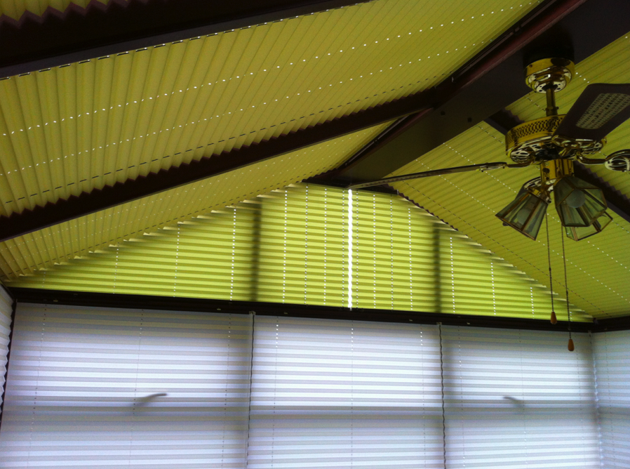 Dual Colour Conservatory & Roof Blinds