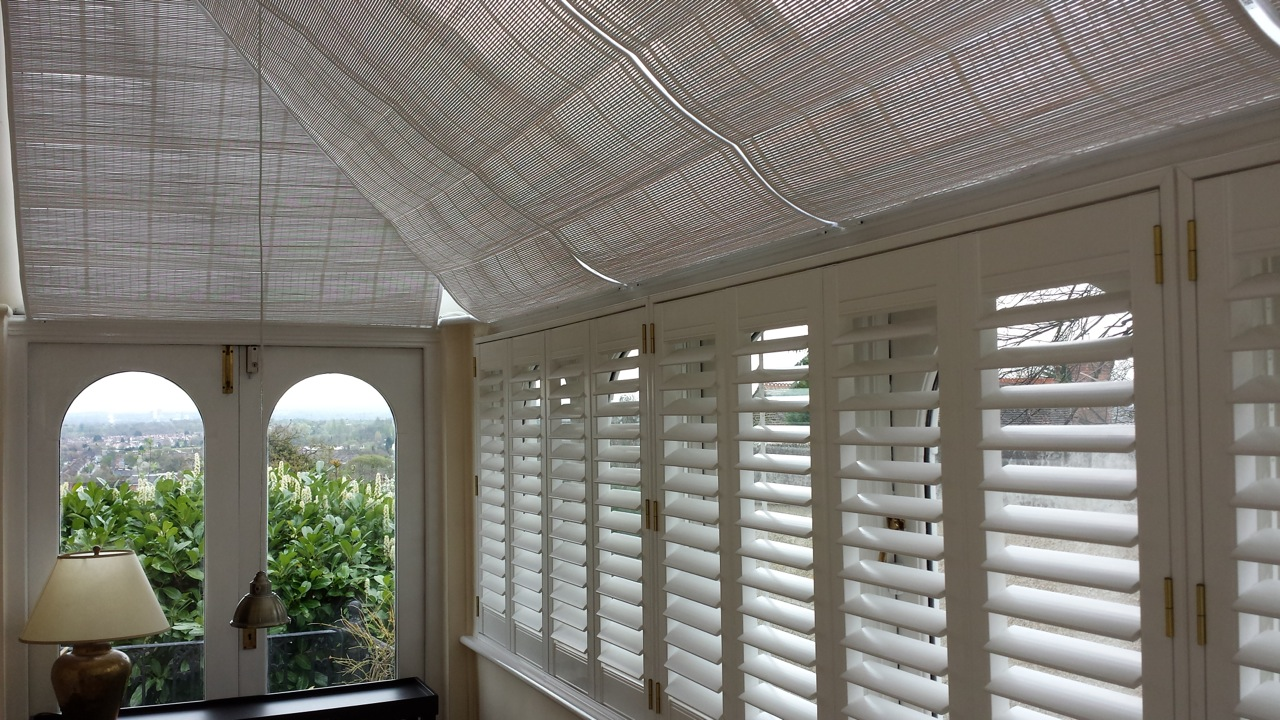 Woodweave Conservatory Roof Blinds