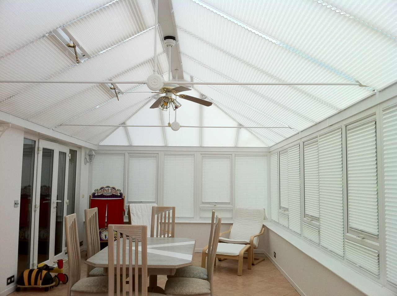 Conservatory Side & Roof Blinds