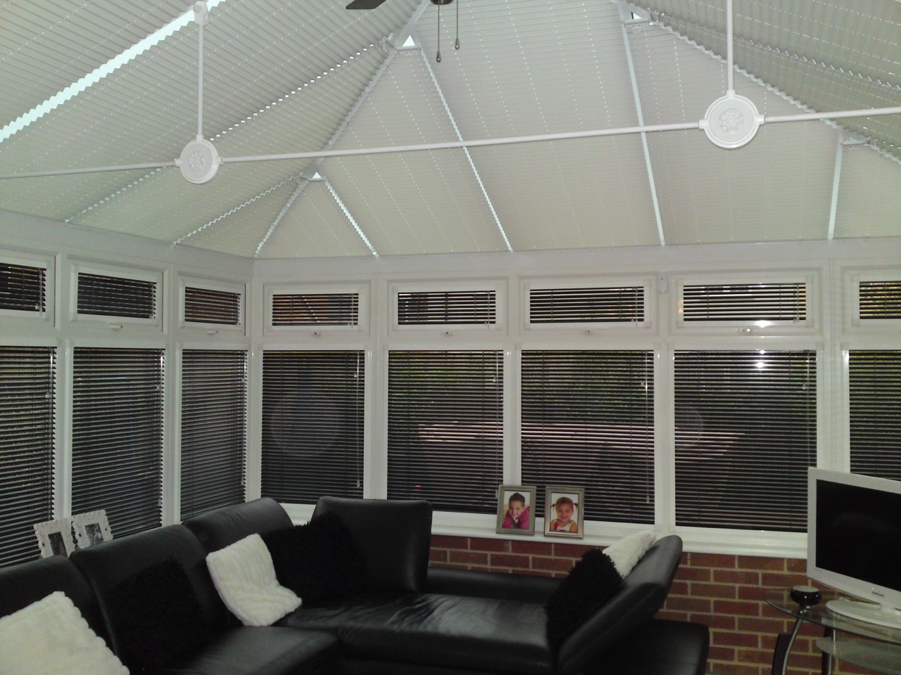 Conservatory Roof and Slide Blinds