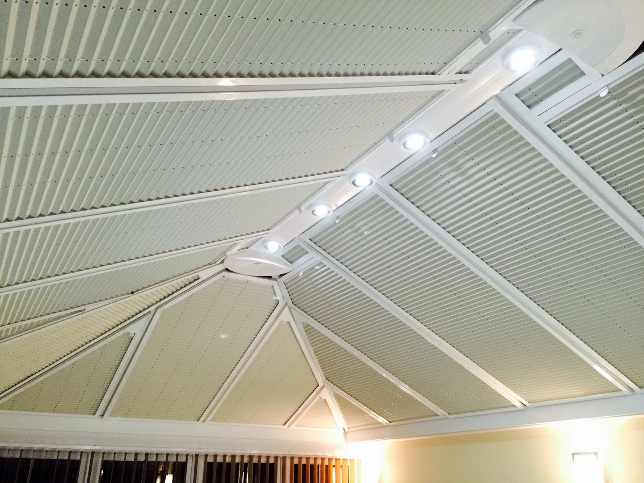 Perfect Fit Conservatory Roof Blinds Instyle Blinds